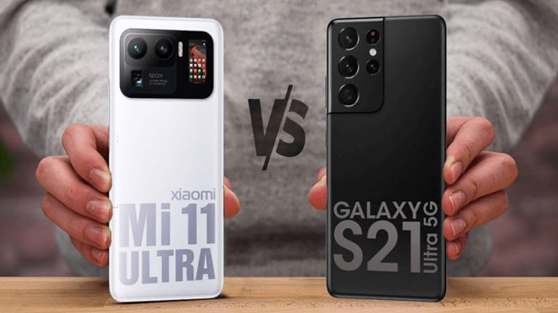 مقایسه S21 Ultra با Mi 11 Ultra