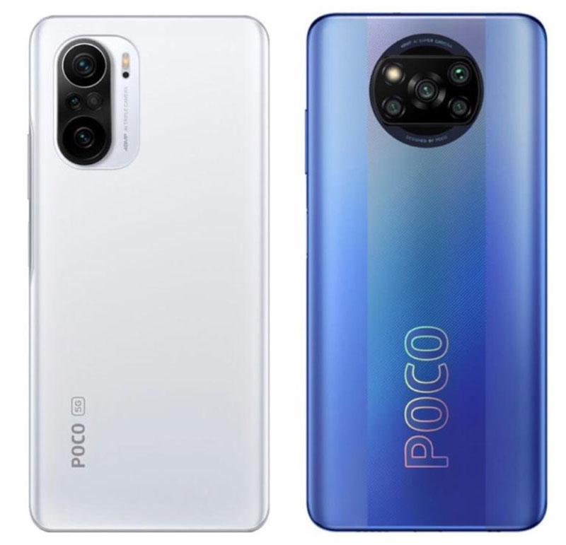 مقایسه ی گوشی Poco F3 با Poco X3 pro