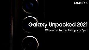 رونمایی از محصولات جدید سامسونگ در رویداد Galaxy UNPACKED 2021