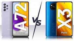 Galaxy A72 بخریم یا Poco X3 pro؟