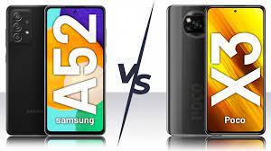 مقایسه ۲ گوشی میان رده شیائومی poco X3 با سامسونگ Galaxy A52