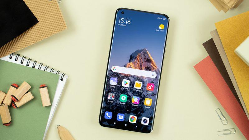 هوم اسکرین گوشی های شیائومی