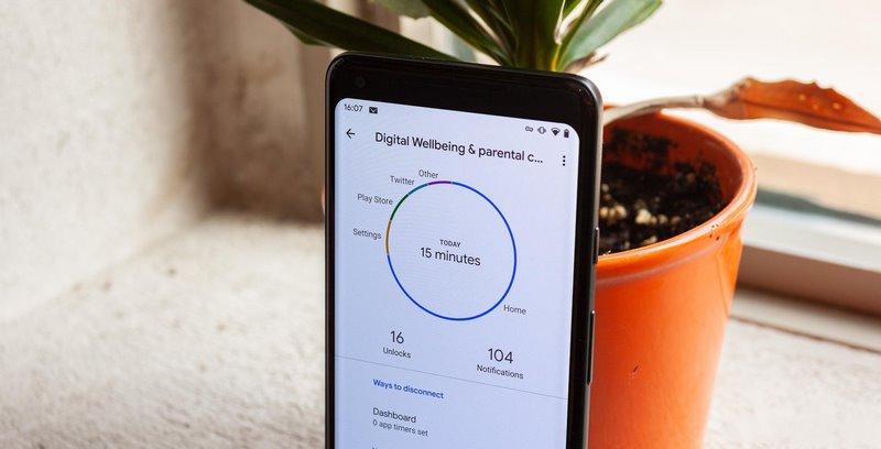 دیجیتال ولبینگ در تنظیمات گوشی های شیائومی